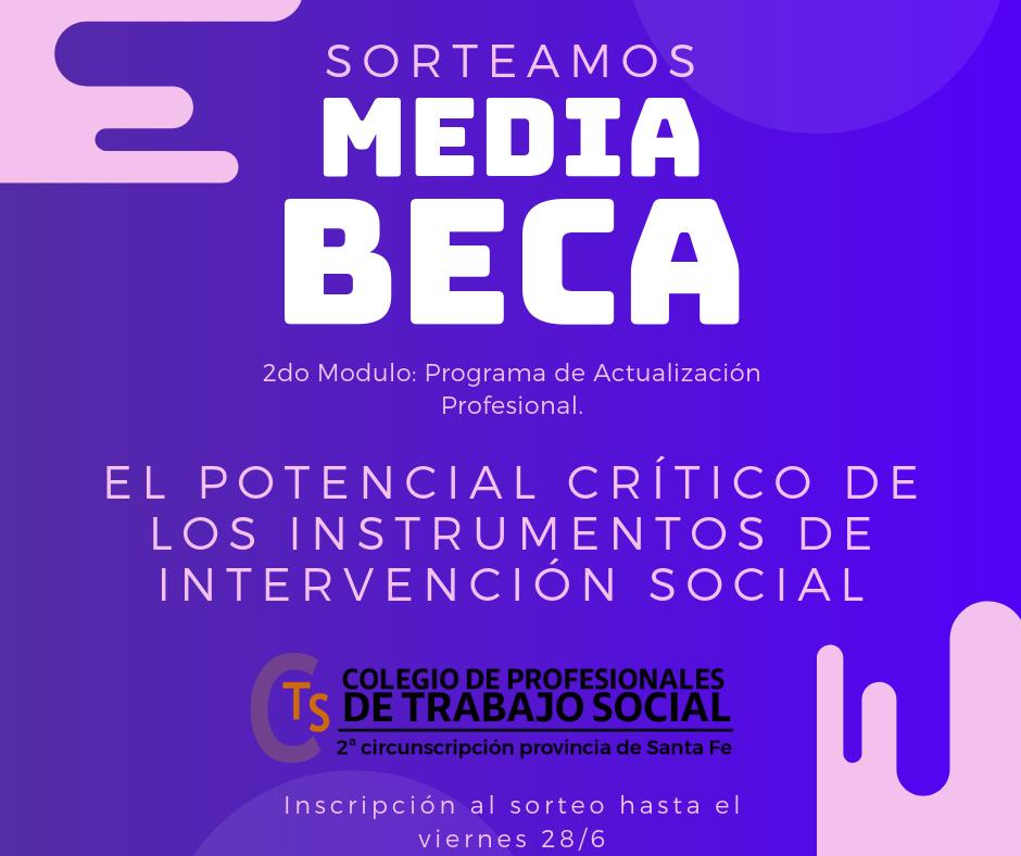 Media Beca – Programa de Actualización en Intervención Profesional